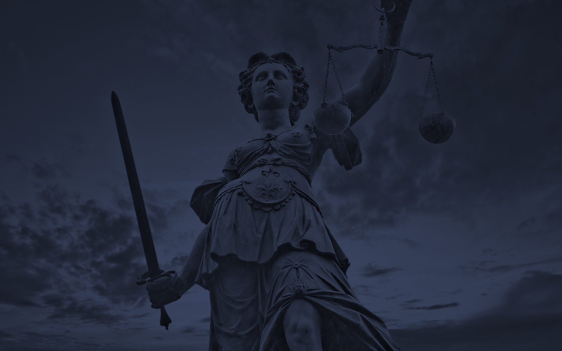 lady justice holding a sword