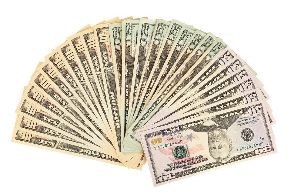 embezzled money